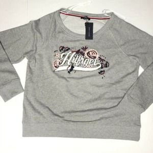 Tommy Hilfiger XL Embroidered Sweatshirt New